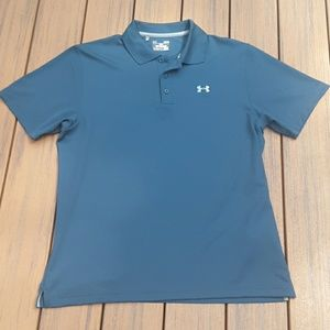 Turquoise Under Armour Polo